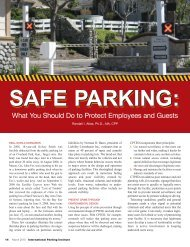 Safe Parking: What You Should Do to Protect Employees and Guests