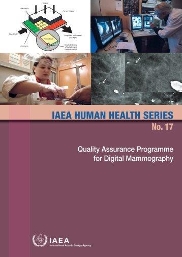 iaea human health series publications - SEDIM