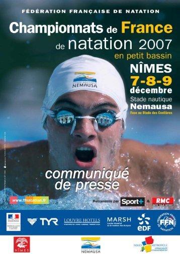 Untitled - Fédération Française de Natation