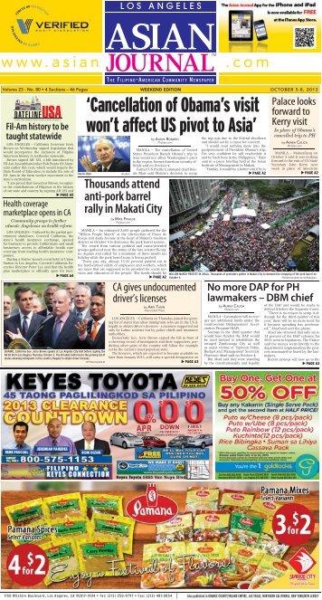 October 5-8, 2013 - Asian Journal Digital Editions