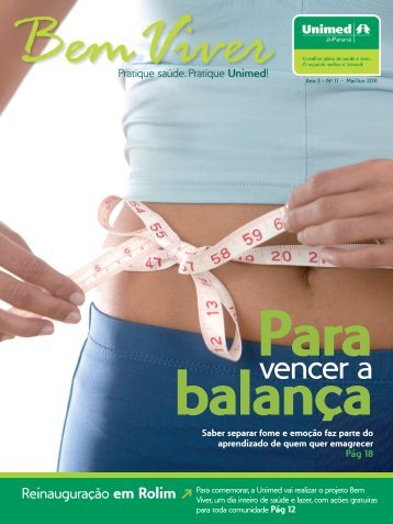 Para vencer a balança - Unimed Ji-Paraná