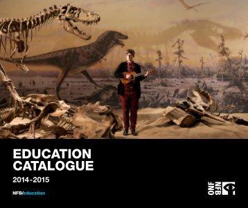 NFBEducation_Catalogue_2014-2015
