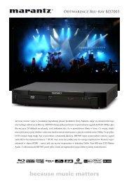 Odtwarzacz Blu-ray BD7003 - AUDIO KLAN