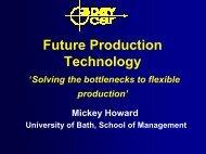 Future Production Technology - 3DayCar