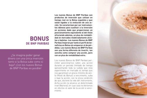 Bonus - BNP Paribas