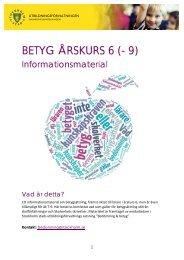 Betyg %c3%a5k 6 - informationsmaterial