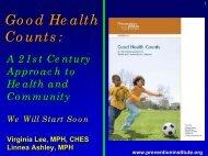 Community Health Factors