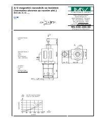 2/2 magnetni razvodnik sa lezistem - IMAV-Hydraulik GmbH
