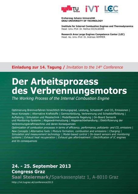 Programm - Graz University of Technology