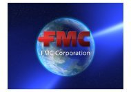 Page 1 Page 2 'FMC 'Y A GLOBAL AND-DIVERSIFCIED CHEMICAL ...