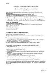 Notice pour le public (projet) - Teva Pharma Belgium