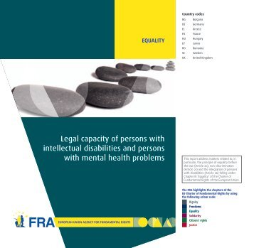 Legal capacity of persons with intellectual disabilities and persons ...