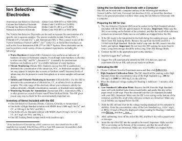 Ion Selective Electrodes - Bama.ua.edu