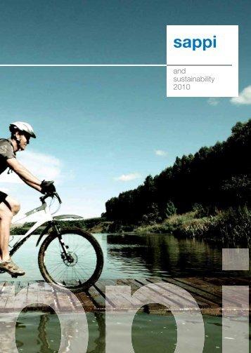 and sustainability 2010 - Sappi