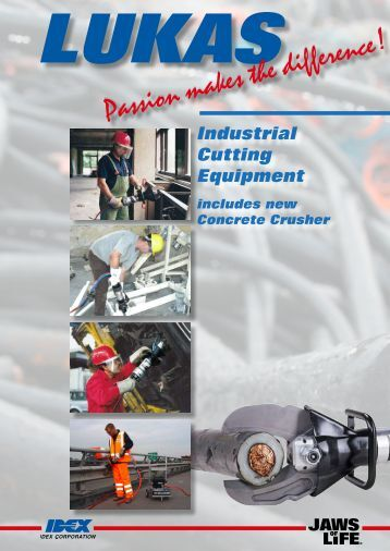 Lukas Cutting Tool Catalogue - Gensco Equipment