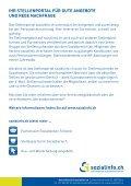 flyer stellenmarkt web - Sozialinfo.ch - Seite 2
