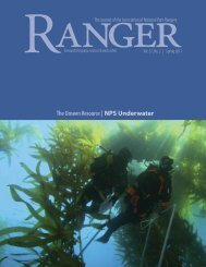 The Unseen Resource | NPS Underwater - Association of National ...
