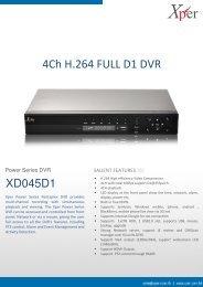 4Ch H.264 FULL D1 DVR - adeptdesigns.org