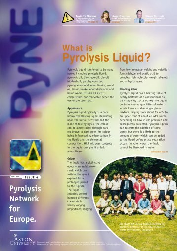 What Is Pyrolysis Liquid? - Pyne