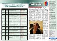 Programm Juli, August, September 2009