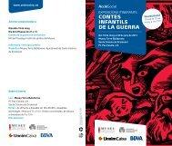 Fullet de l'exposició - Ajuntament de Santa Coloma de Gramenet