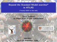 Beyond the Standard Model searches* in ATLAS