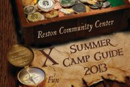 Summer Camp Guide 2013 - Reston Community Center
