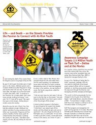 Volume 7, Issue 1 – 2008 - National Safe Place