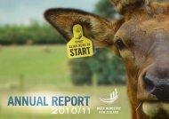 ANNUAL REPORT - Deer Industry New Zealand