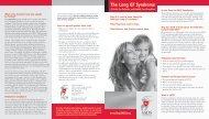 Long QT Syndrome Brochure - SADS Foundation