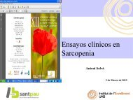 Ensayos clínicos en Sarcopenia - Scmgg.com