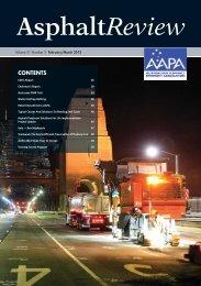 Asphalt Review - Volume 31 Number 2 (Feb / Mar 2012) - Australian ...