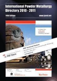 Download original article as a PDF - International Powder ...