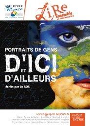 portraits littéraires - Agglopole Provence