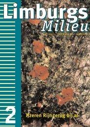 Limburgs Milieu nr. 2 2002 - Milieufederatie Limburg