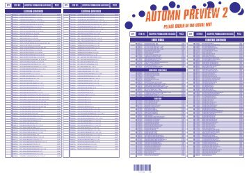 Autumn Preview 2 2013 approx 500kb (new ... - Mobile 24 Studio