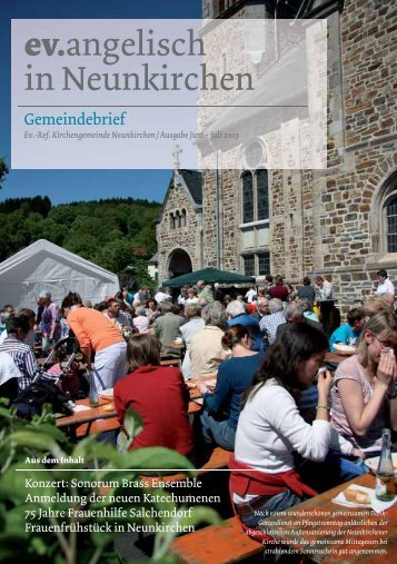 Juni – Juli 2013 - Ev. Kirchenkreis Siegen
