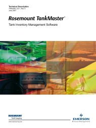 Tank Inventory Management Software - Emerson Process ...