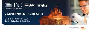 eGovernment & eHealtH - IDC Portugal