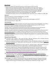 CV -- two-page - Stuckeman - Penn State University