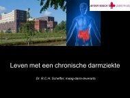 Screening van colitis patienten - Jeroen Bosch Ziekenhuis