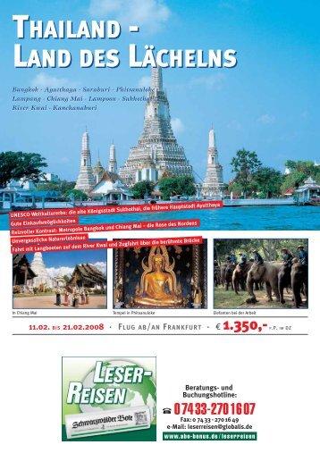 THAILAND - ABO Bonus