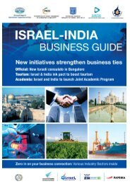 israel - india business guide