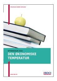 Efterskoler - den økonomiske temperatur - BDO