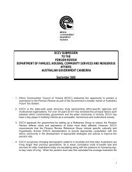 eccv submission to the pension review department of families ...