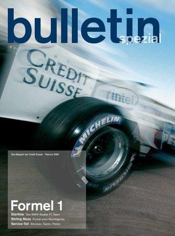 Formel 1 - Credit Suisse - Deutschland