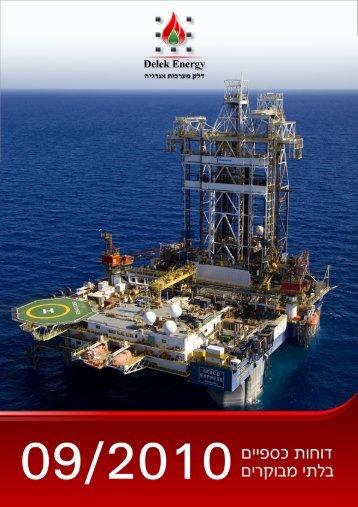 דלק מערכות אנרגיה בע מ - Delek Energy Systems