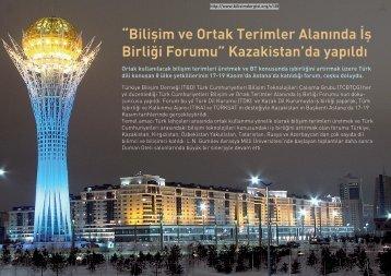 """""""Bilişim ve Ortak Terimler Alanında İş Birliği Forumu ... - Bilişim Dergisi"""