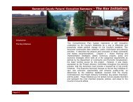 Executive Summary - Somerset County Government