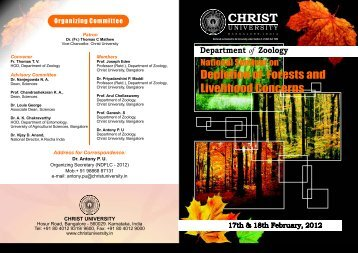 Brochure New Final - Christ University